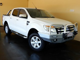 2014 Ford Ranger PX XLT 3.2 (4x4) White 6 Speed Automatic Double Cab Pick Up