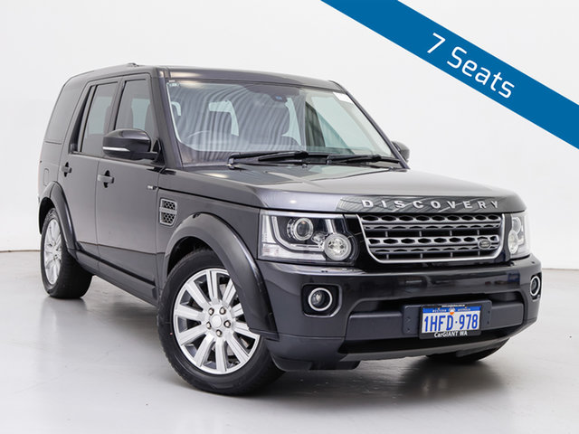 Used Land Rover Discovery MY14 3.0 TDV6, 2014 Land Rover Discovery MY14 3.0 TDV6 Causeway Grey 8 Speed Automatic Wagon