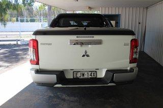 2020 Mitsubishi Triton MR MY20 GLX-R Double Cab White 6 Speed Manual Utility