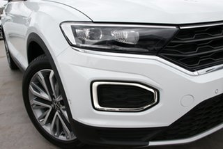 2021 Volkswagen T-ROC A1 MY21 110TSI Style White Silver 8 Speed Sports Automatic Wagon.