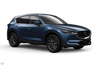 2020 Mazda CX-5 KF4WLA GT SKYACTIV-Drive i-ACTIV AWD Blue 6 Speed Sports Automatic Wagon.