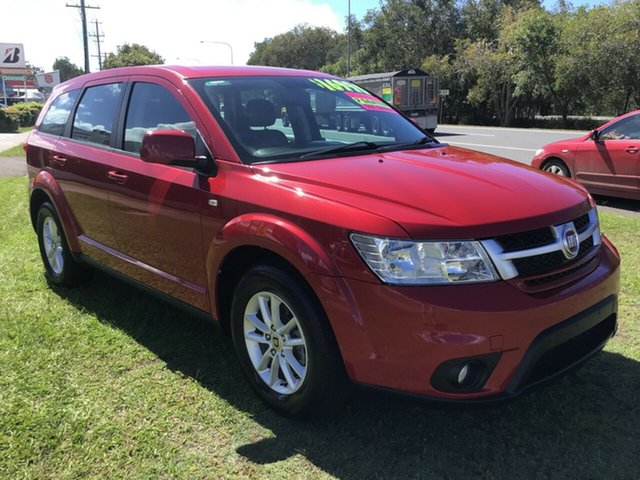 Used Fiat Freemont JF Base Caloundra, 2014 Fiat Freemont JF Base Red 6 Speed Automatic Wagon