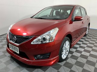 2016 Nissan Pulsar C12 Series 2 SSS Red 6 Speed Manual Hatchback.