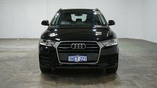 2017 Audi Q3 8U MY17 TDI S Tronic Quattro Black 7 Speed Sports Automatic Dual Clutch Wagon