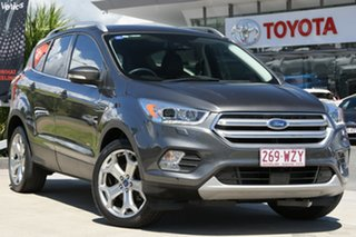 2016 Ford Escape ZG Titanium Grey 6 Speed Sports Automatic Dual Clutch SUV.