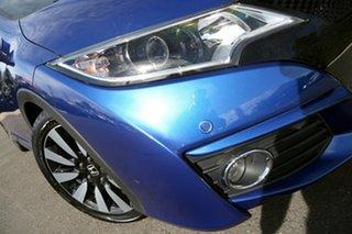2016 Honda Civic 9th Gen MY15 VTi-LN Brilliant Sporty Blue 5 Speed Sports Automatic Hatchback.