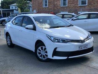 2019 Toyota Corolla ZRE172R Ascent S-CVT White 7 Speed Constant Variable Sedan.