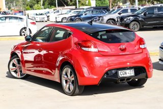2011 Hyundai Veloster FS Coupe Red 6 Speed Manual Hatchback.