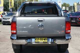 2017 Volkswagen Amarok 2H MY17 TDI550 4MOTION Perm Highline Grey 8 Speed Automatic Utility