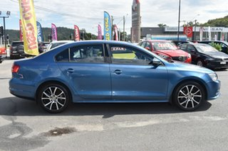 2015 Volkswagen Jetta 1B MY16 118TSI DSG Trendline Blue 7 Speed Sports Automatic Dual Clutch Sedan.