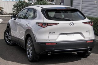 2020 Mazda CX-30 DM4WLA G25 SKYACTIV-Drive i-ACTIV AWD Astina White 6 Speed Sports Automatic Wagon