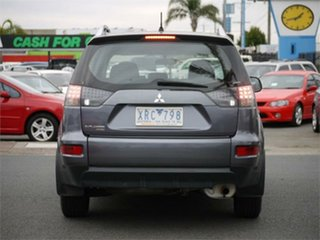 2010 Mitsubishi Outlander ZH LS Grey Manual Wagon