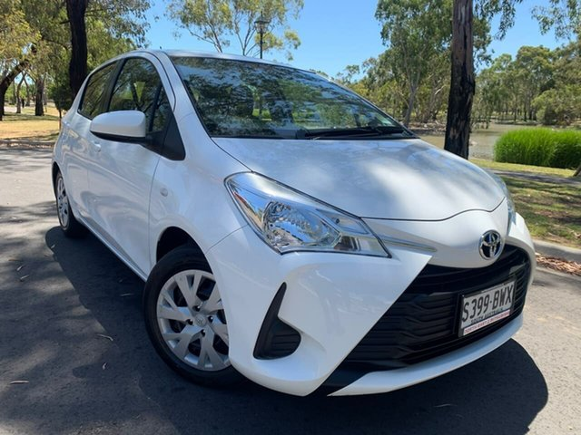 Used Toyota Yaris NCP130R Ascent Hillcrest, 2018 Toyota Yaris NCP130R Ascent White 4 Speed Automatic Hatchback