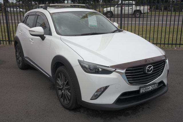 Used Mazda CX-3 DK4W7A Akari SKYACTIV-Drive i-ACTIV AWD Maryville, 2015 Mazda CX-3 DK4W7A Akari SKYACTIV-Drive i-ACTIV AWD White 6 Speed Sports Automatic Wagon