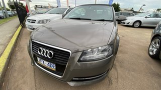 2011 Audi A3 8P MY11 TFSI S Tronic Ambition Grey 6 Speed Sports Automatic Dual Clutch Convertible