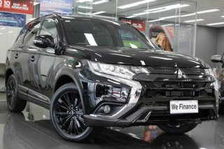 2020 Mitsubishi Outlander ZL MY21 Black Edition 2WD Black 6 Speed Constant Variable Wagon.