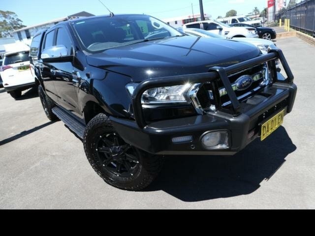 Used Ford Ranger Kingswood, Ford 2018 MY DOUBLE PU XLT . 3.2D 6A 4X4