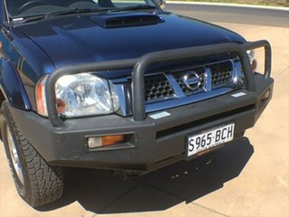 2014 Nissan Navara D22 S5 ST-R Blue 5 Speed Manual Utility