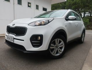 2018 Kia Sportage QL MY18 Si AWD White 6 Speed Sports Automatic Wagon.