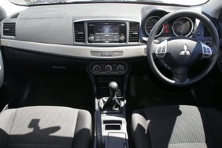 2013 Mitsubishi Lancer CJ MY14 ES Silver 5 Speed Manual Sedan