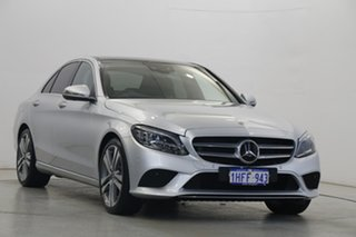 2018 Mercedes-Benz C-Class W205 808MY C300 9G-Tronic Silver 9 Speed Sports Automatic Sedan