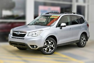 2013 Subaru Forester S4 MY14 2.5i-S Lineartronic AWD Silver 6 Speed Constant Variable Wagon.