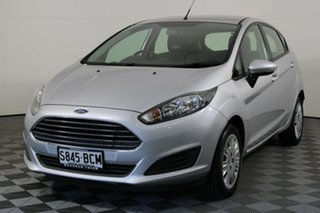 2014 Ford Fiesta WZ Ambiente PwrShift Silver 6 Speed Sports Automatic Dual Clutch Hatchback