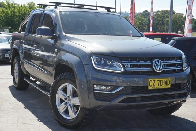 Used Volkswagen Amarok 2H MY17 TDI550 4MOTION Perm Highline Phillip, 2017 Volkswagen Amarok 2H MY17 TDI550 4MOTION Perm Highline Grey 8 Speed Automatic Utility