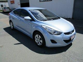 2013 Hyundai Elantra ACTIVE Blue 4 Speed Automatic Sedan.