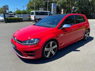 2016 Volkswagen Golf VII MY17 R DSG 4MOTION Red 6 Speed Sports Automatic Dual Clutch Hatchback.