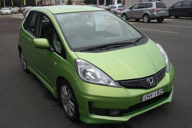 Used Honda Jazz GE MY12 VTi Maryville, 2012 Honda Jazz GE MY12 VTi Green 5 Speed Automatic Hatchback