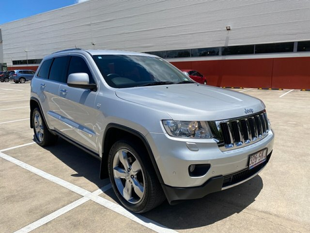 Used Jeep Grand Cherokee WK Limited (4x4) Morayfield, 2011 Jeep Grand Cherokee WK Limited (4x4) Silver 5 Speed Automatic Wagon