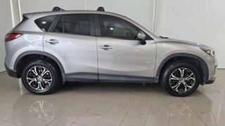 2012 Mazda CX-5 KE1071 Maxx SKYACTIV-Drive Silver 6 Speed Sports Automatic Wagon
