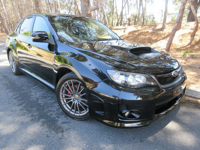 Used Subaru Impreza G3 MY12 WRX AWD Reynella, 2011 Subaru Impreza G3 MY12 WRX AWD Black 5 Speed Manual Sedan