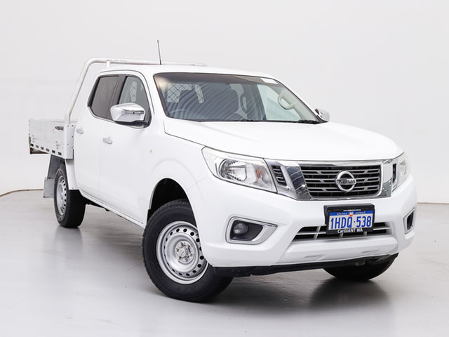 Used Nissan Navara NP300 D23 RX (4x2), 2015 Nissan Navara NP300 D23 RX (4x2) White 6 Speed Manual Double Cab Utility