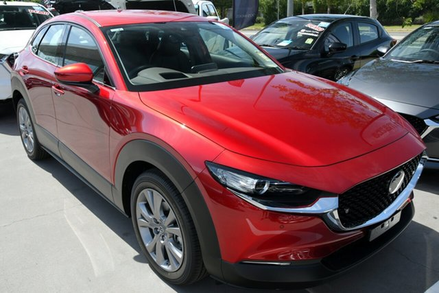 New Mazda CX-30 DM2W7A G20 SKYACTIV-Drive Touring East Maitland, 2020 Mazda CX-30 DM2W7A G20 SKYACTIV-Drive Touring Red 6 Speed Sports Automatic Wagon