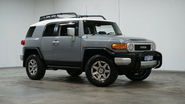 Used Toyota FJ Cruiser GSJ15R MY14 Welshpool, 2014 Toyota FJ Cruiser GSJ15R MY14 Cement 5 Speed Automatic Wagon