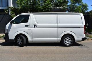 2012 Toyota HiAce KDH201R MY12 LWB White 4 Speed Automatic Van.