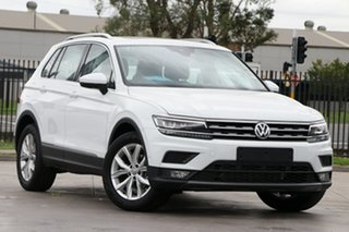 2020 Volkswagen Tiguan 5N MY20 110TSI DSG 2WD Comfortline Pure White 6 Speed.