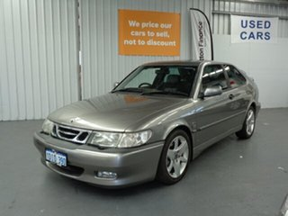 2002 Saab 9-3 MY2002 Aero Grey 4 Speed Automatic Coupe.