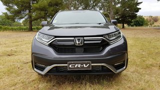 2020 Honda CR-V RW MY21 VTi FWD L7 Modern Steel 1 Speed Automatic Wagon.