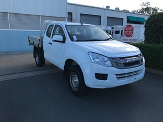 2015 Isuzu D-MAX MY15 SX Space Cab White 5 speed Automatic Cab Chassis.