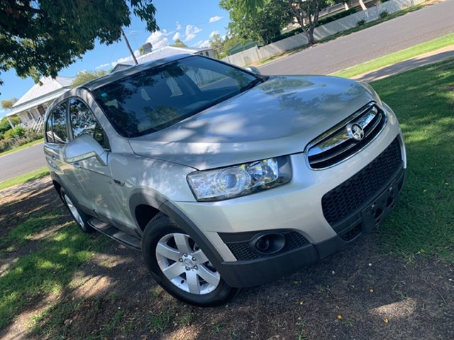 Used Holden Captiva CG Series II MY12 7 SX Moree, 2013 Holden Captiva CG Series II MY12 7 SX Nitrate Silver 6 Speed Sports Automatic Wagon