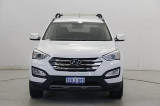 2013 Hyundai Santa Fe DM MY14 Elite White 6 Speed Sports Automatic Wagon.