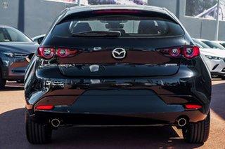 2020 Mazda 3 BP2HLA G25 SKYACTIV-Drive Astina Black 6 Speed Sports Automatic Hatchback.