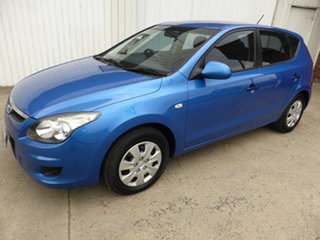 2011 Hyundai i30 FD MY11 SX Blue 4 Speed Automatic Hatchback.