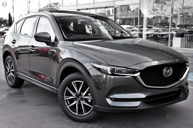 New Mazda CX-5 KF4WLA GT SKYACTIV-Drive i-ACTIV AWD Waitara, 2020 Mazda CX-5 KF4WLA GT SKYACTIV-Drive i-ACTIV AWD Grey 6 Speed Sports Automatic Wagon