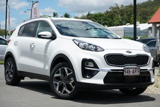 2020 Kia Sportage QL MY21 SX+ 2WD Clear White 6 Speed Sports Automatic Wagon.