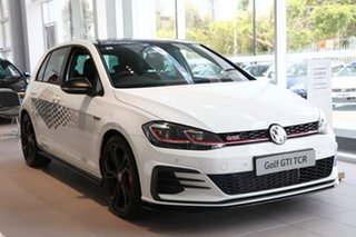 2020 Volkswagen Golf 7.5 MY20 GTI TCR DSG White 6 Speed Sports Automatic Dual Clutch Hatchback.