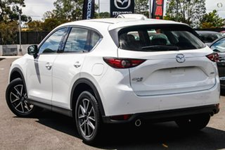 2020 Mazda CX-5 KF4WLA GT SKYACTIV-Drive i-ACTIV AWD White 6 Speed Sports Automatic Wagon